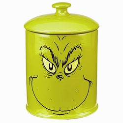 Dr. Seuss Grinch Ceramic Cookie Jar pre-order
