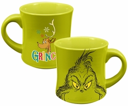 Dr. Seuss Grinch Holiday 12 oz. Ceramic Mug
