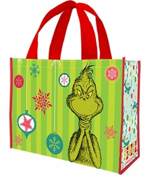 Dr. Seuss Grinch Large Recycled Shopper Tote pre-order