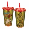 Dr. Seuss You're A Mean One Mr. Grinch 18 oz. Acrylic Travel Cup pre-order