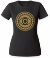 Dr. Strange Eye of Agamotto juniors crew black womens