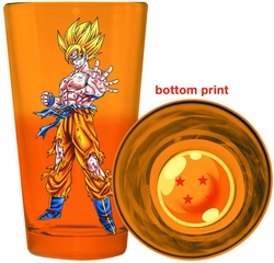Dragonball Z Goku Bottom Print Pint Glass pre-order