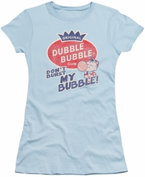 Dubble Bubble juniors t-shirt Burst Bubble light blue