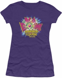Dubble Bubble juniors t-shirt Ka Boom purple