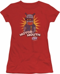 Dubble Bubble juniors t-shirt Motor Mouth red