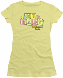 Dubble Bubble juniors t-shirt Oh Baby banana