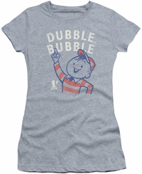 Dubble Bubble juniors t-shirt Pointing heather