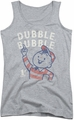 Dubble Bubble juniors tank top Pointing athletic heather