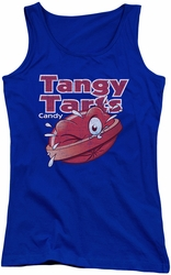 Dubble Bubble juniors tank top Tangy Tarts royal