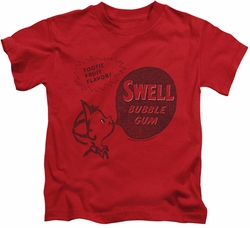Dubble Bubble kids t-shirt Swell Gum red