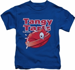 Dubble Bubble kids t-shirt Tangy Tarts royal