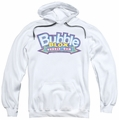 Dubble Bubble pull-over hoodie Bubble Blox adult white