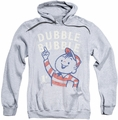 Dubble Bubble pull-over hoodie Pointing adult athletic heather
