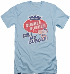 Dubble Bubble slim-fit t-shirt Burst Bubble mens light blue