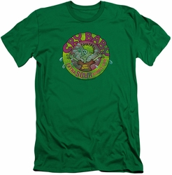 Dubble Bubble slim-fit t-shirt Logo mens kelly green