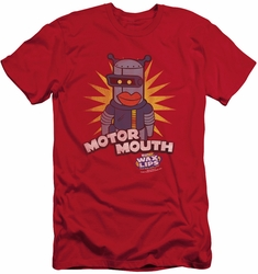 Dubble Bubble slim-fit t-shirt Motor Mouth mens red