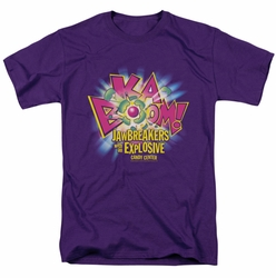 Dubble Bubble t-shirt Ka Boom mens purple