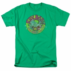 Dubble Bubble t-shirt Logo mens kelly green