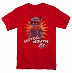 Dubble Bubble t-shirt Motor Mouth mens red