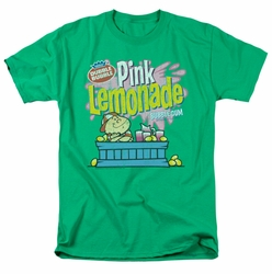 Dubble Bubble t-shirt Pink Lemonade mens kelly green