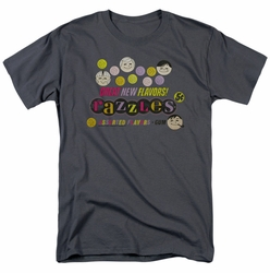 Dubble Bubble t-shirt Razzles Retro Box mens charcoal