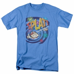 Dubble Bubble t-shirt Splat Jawbreakers mens carolina blue
