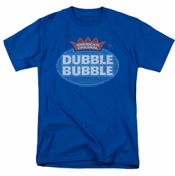 Dubble Bubble t-shirt Vintage Logo mens royal blue