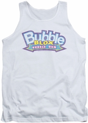 Dubble Bubble tank top Bubble Blox mens white