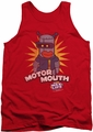 Dubble Bubble tank top Motor Mouth mens red