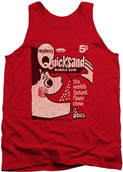 Dubble Bubble tank top Quicksand mens red