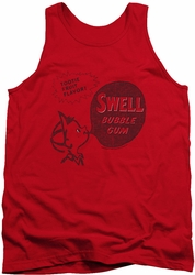 Dubble Bubble tank top Swell Gum mens red
