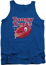Dubble Bubble tank top Tangy Tarts mens royal