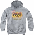 Dubble Bubble youth teen hoodie Hot Chew athletic heather