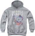 Dubble Bubble youth teen hoodie Pointing athletic heather