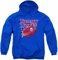 Dubble Bubble youth teen hoodie Tangy Tarts royal blue
