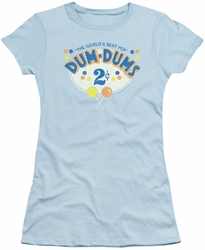 Dum Dums juniors t-shirt 2 Cents Light Blue