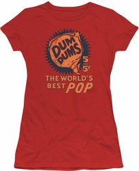 Dum Dums juniors t-shirt 5 For 5 red