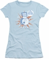 Dum Dums juniors t-shirt Drum Man light blue