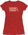 Dum Dums juniors t-shirt World's Best red