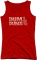 Dum Dums juniors tank top World's Best red
