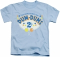 Dum Dums kids t-shirt 2 Cents light blue
