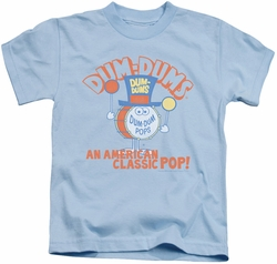 Dum Dums kids t-shirt Classic Pop light blue