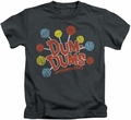 Dum Dums kids t-shirt Original Pops charcoal