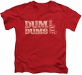Dum Dums kids t-shirt World's Best red