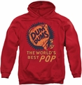Dum Dums pull-over hoodie 5 For 5 adult red