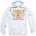 Dum Dums pull-over hoodie Mystery Flavor adult white