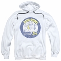 Dum Dums pull-over hoodie Pop Parade adult white