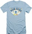 Dum Dums slim-fit t-shirt 2 Cents mens light blue