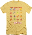 Dum Dums slim-fit t-shirt Flavors mens banana