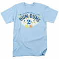 Dum Dums t-shirt 2 Cents mens Light Blue